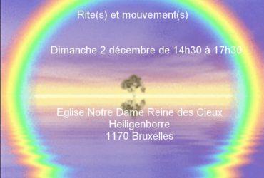 """Cercle d'éveil """"Rite(s) et mouvement(s)"""" dimanche 2 décembre"""