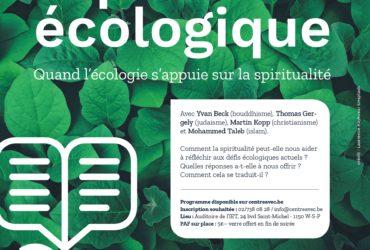Quand l'écologie s'appuie sur la spiritualité.
