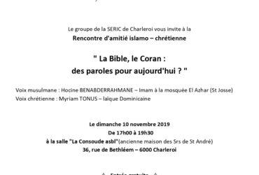 Programme SeRIC Charleroi